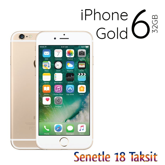 Elden Senetle Apple İPhone 6 32 GB Gold Akıllı Cep Telefonu