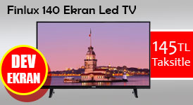 vestel 140 ekran led tv senetle