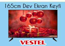 Senetle Vestel 65ub9100 Led Tv