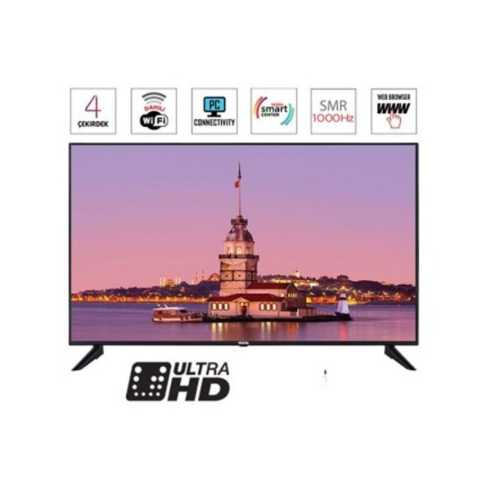 Elden Senetle Vestel 4K Smart 65UB9100 165 Ekran Led Tv(65 inç)
