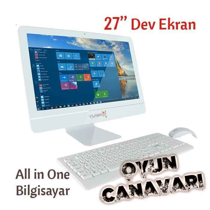 TurboX GamerX Oyun Bilgisayarı All in One Dev Ekran i7 7700