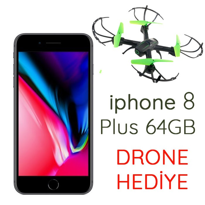 Senetle iPhone 8 Plus 64Gb Cep Telefonu DRONE HEDİYE